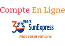 Enregistrement Sunexpress en ligne