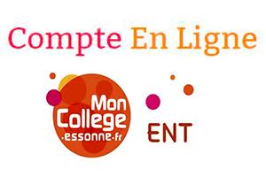 Accéder à www.moncollege-ent.essonne.fr