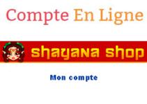 Shayanashop espace personnel