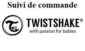 suivi de commande chez Twistshake
