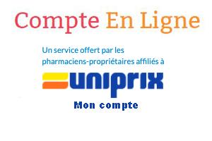 Uniprix se connecter