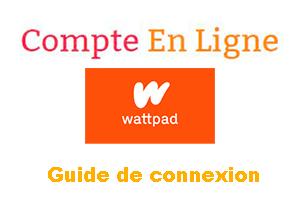 Se connecter au compte Wattpad