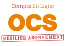 Résilier abonnement OCS