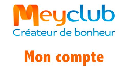 Meyclub se connecter
