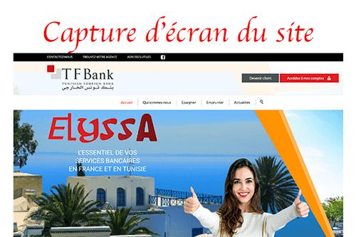 Accéder au compte tfbank