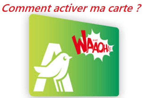 activer carte auchan waaoh