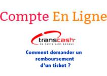 Demander remboursement coupon Transcash