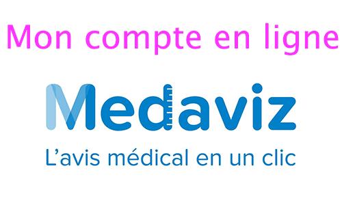 Mon compte Medaviz : téléconsultation médicale
