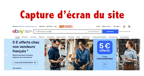 Accéder sur www.ebay.fr