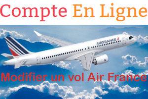 Comment modifier la date d'un vol Air France ?
