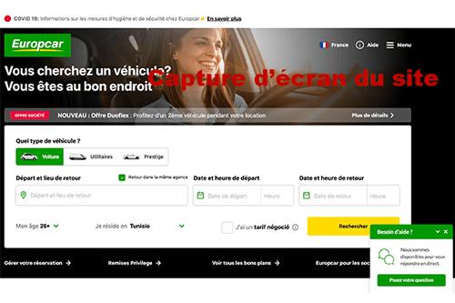 Conditions annulation europcar