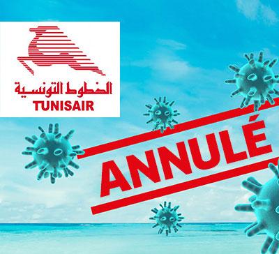 Remboursement Tunisair à cause de Covid 19