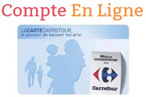 Consulter ma carte fidélité Carrefour