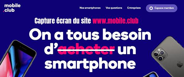 location smartphone en ligne
