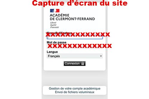 Accès à webmail Clermont Ferrand