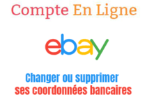 modifier carte bancaire sur ebay
