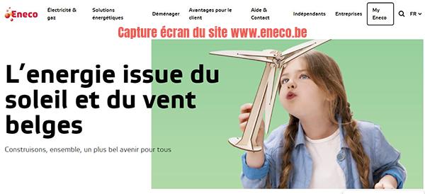 eneco belgique facture