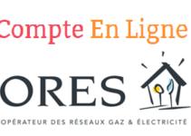 Espace client Ores.be