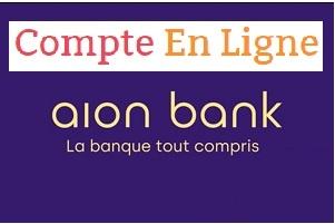 Mon compte en ligne Aion Bank