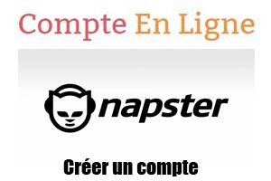 créer compte napster